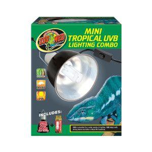 Zoo Med Mini Tropical UVB Lighting Combo Pack