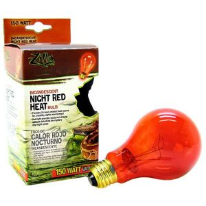 Zilla Incandescent Night Red Heat Bulb