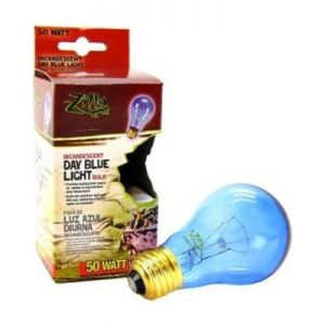 Zilla Incandescent Day Blue Light Bulb