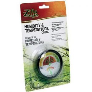 Zilla Analog Temperature & Humidity Gauge
