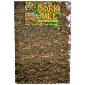 Zoo Med Natural Cork Tile Background