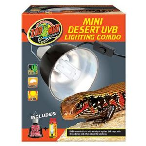 Zoo Med Desert UVB Mini Lighting Combo