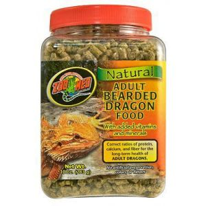 Zoo Med Natural Bearded Dragon Food ADULT