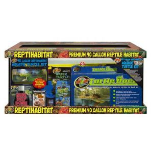 Zoo Med Repti Habitat Aquatic Turtle Kit 40gl