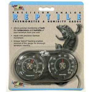 Zoo Med Thermometer & Humidity Indicator